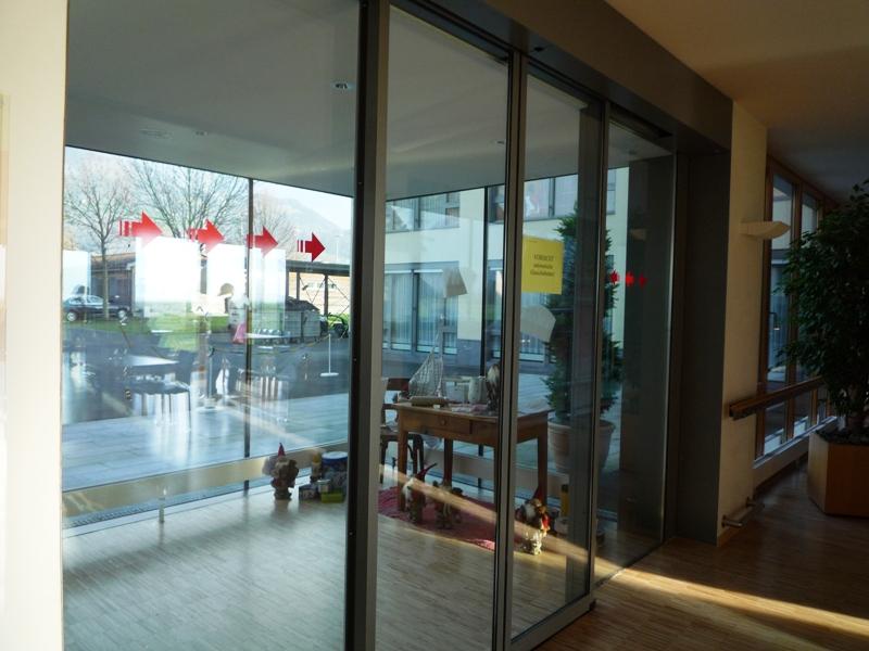 Eingangsbereich im Alters- & Pflegezentrum